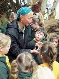 Composting with the Simpson Primary School!