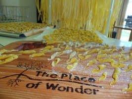 Lots of fabulously shaped Hand-made Pasta!