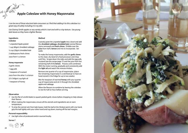 Connect - Apple coleslaw recipe